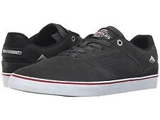 EMERICA 6107000167 021 THE REYNOLDS LOW VULC Mn's (M) Grey/Wht Suede Skate Shoes