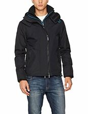 Superdry Mens Windcheater Jacket Black Denby Blue Ship internationally