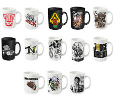 2000AD Mug Judge Dredd ABC Warriors Strontium Dog nemesis New Official boxed