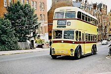 Bournemouth yellow Trolleybuses and buses Sets of 10 6x4 colour print photos