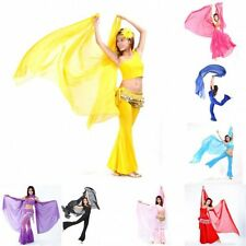 Women Chiffon Shawl Veil Scarf Belly Dance Party Dancing Costume Dress Scarves