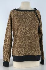 Iron Fist Brown Kiss of Death Pullover Sweater-2296
