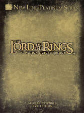 Lord of the Rings: The Motion Picture Trilogy DVD, 2004, 12-Disc Set