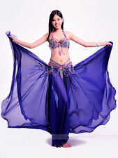 New High Quality Belly Dance Costume 3PCS of Bra&Belt&Skirt 34B/C 36B/C 9 colors