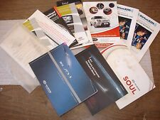 12 2012 KIA SOUL OWNERS MANUAL SET OEM USED OWNERS GUIDE SET NICE
