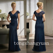 Luxury Beading Mother Of The Bride Dresses V Neck Wedding Formal Gowns 2017 New