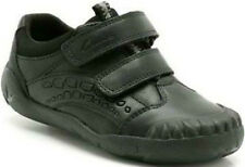 SALE BOYS CLARKS RAPTO BOY F AND G FIT BLACK LEATHER BACK TO SCHOOL SHOES
