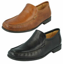 MENS ANATOMIC & CO FORMAL CASUAL LEATHER STITCHED DETAIL SLIP ON SHOES TORRES
