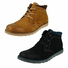 MENS THOMAS BLUNT SMART CASUAL LACE UP LEATHER DESERT ANKLE BOOTS A3056