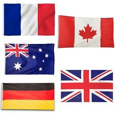 5ft X 3ft World Flags National Country Flag Sport Events Home Party Decorations