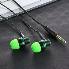 New Stereo In-Ear Earphone Headphone Headset Earbuds 3.5mm For iPhone Samsung US