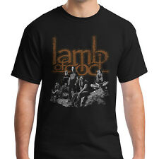 LAMB OF GOD Heavy Metal Band Graphic T-shirt Mark Morton Unisex Adult Rock Shirt