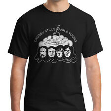 CSNY T-shirt Crosby Stills Nash and Neil Young Shirt