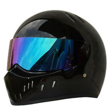 DOT Black Bandit Motorcycle Motorbike Off Road Helmet Full Face FRP  Size S-XXL