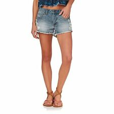 Rusty Denim Shorts - Rusty Wonder 2 Denim Shorts - Ocean