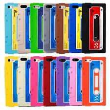Cassette Tape Slim Funky Retro Phone Case Cover for Apple iPhone SE 5s 5c 5