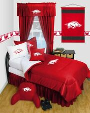 Arkansas Razorback Dorm Bedding Comforter Set
