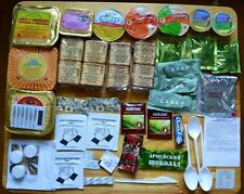 MILITARY RUSSIAN ARMY FOOD IRP RATION !Daily 3 Pack!!! MRE Emergency Ration!