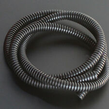 "10' Feet 1/4"" Black Split Loom Wire Flexible Tubing Wire Conduit Hose Sales"