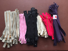 Job Lot 100 x New Zips Mixed Colours/Sizes
