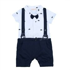 Infant Baby Boys Gentleman Clothes Set Party Formal Tops & Pants Romper Outfits