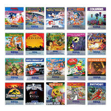 The best SEGA Game Gear Games (Only Module) (used)