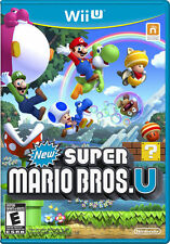 New Super Mario Bros. U (Nintendo Wii U, 2012) Free Shipping Sealed