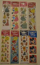 "NEW ~ DISNEY STICKERS (some 3D)  "" Great for Embellishments & Scrapbooking """
