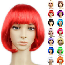 Ladies WIG in Hair Styling Sexy Short Bob Cut Full Cosplay Cos Costume Party hot