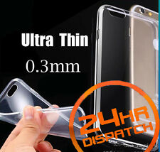 Hot Luxury Ultra Thin Silicone Gel Slim Rubber Case For Iphone6/6s {hc]285