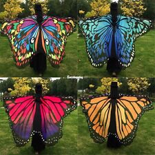 Women Fashion Party Lady Butterfly Wing Soft Wrap Long Shawl Scarves Scarf Beach