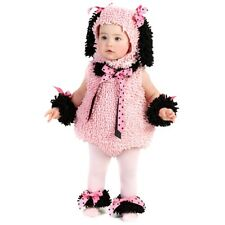 Puppy Baby Costume Girls Pink Poodle Dog Infant/Toddler Halloween Fancy Dress Up