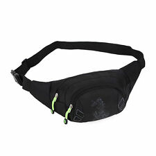 Travel Hip Purse Mens Sports Bag Utility Cycling Waist Fanny Pack Belt Bag