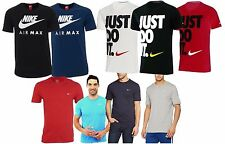 New Mens Nike Swoosh T Shirt Retro Gym Sports Tee Air Max T-Shirt Vintage Top