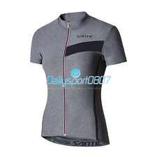 Women Cycling Jersey Summer Short Sleeve Bike Shirt Breathable Bicycle Jersey DS