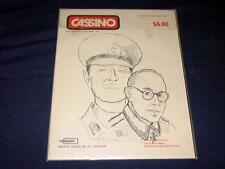 Excalibre Games 1977   - CASSINO - Panzer Battles & Sieges Series (UNPUNCHED)