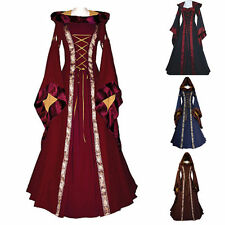 Women Adult Medieval Costume Peasant Wench Victorian Gothic Dress Fancy Party