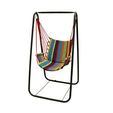 Outdoor Garden Patio Porch Hammock Hanging Rope Swing Chair Unisex Sports Toy