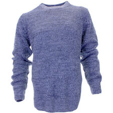 Mens Urban Revival Casual Crew Neck Knitted Jumper Sweater