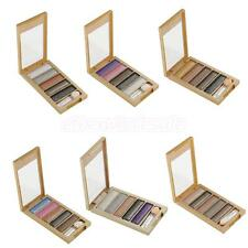 5 Colour Earth Shimmer Eyeshadow Highlight Palette Makeup Nude Smoky Eye Shades