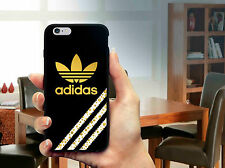 Three Strippes Gold Logo For iPhone Case 6 6s 7 7 plus