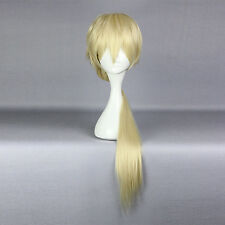 Anime Wig Life Sexy Light Gold Long Braid Cosplay Wig with Free Hairnet
