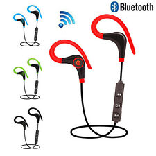 Bluetooth Wireless Sport Stereo Earphone Headphone Headset For Samsung iPhone LG