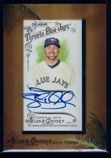 STEVE DELABAR  BLUE JAYS ROOKIE ON CARD AUTO RC SP 2014 TOPPS ALLEN GINTER