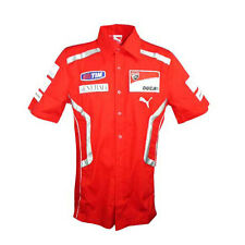 DUCATI CORSE MOTOGP MENS TEAM REPLICA SHIRT RED SIZES S & M ONLY