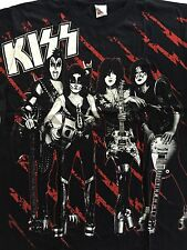 KISS - ROCK THE NATION ALL OVER PRINTED T SHIRT
