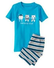 GYMBOREE BOYS AARGH YOU READY FOR BED PIRATE SHORTS GYMMIES PAJAMAS 6 7 8 NWT