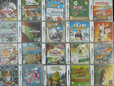 Nintendo DS Games - COMPLETE - Original Boxes/Instructions - Over 80 choices