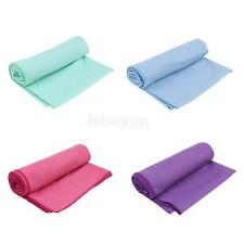 """Machine Washable Fitness Pilates Towels Soft Yoga Towels Portable with Bag 72"""""""