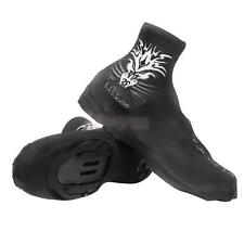 Cycling Zippered Shoe Covers Overshoes   Windproof Outdoor Bike MTB